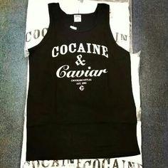 All new #Cocaine & Caviar tanks available now www.houseoftreli.com