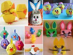 Hoppy Easter, Easter Eggs, Spring Decoration, Egg Carton Crafts, Paper Balls, Easter Crafts For Kids, Spring Crafts, Favorite Holiday, Some Fun