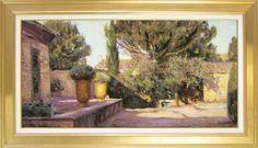 "Leonard Wren ""Tuscan Gold""  Charity Art Auction. Bidding Ends October 10, 2013.  http://www.artshopnc.com/upcoming/charity-art-auction-2013.html"