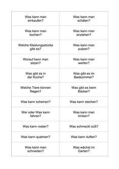 Spontaneous speech: questions of life - language Grammar Tips, German Grammar, German Language Learning, Learn German, Learn English Words, Quizzes, Kindergarten, Teaching, Motivation