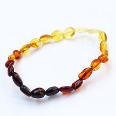 Genuine Baltic Amber Jewelry - Adult Bracelet
