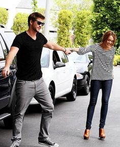 This picture is wonderful. I miss the old Miley... Pshhhhh, I bet he does too... This is getting deep..