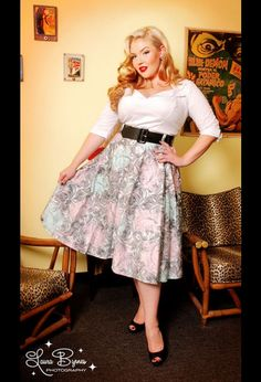 Doris Top, pinup couture