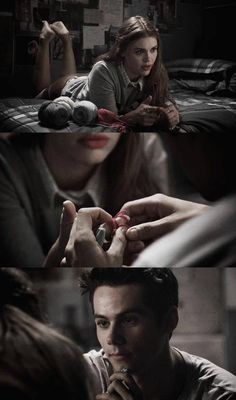 Lydia Martin & Stiles Stilinski- I love Stydia!!! I really wish they would finally get together!!!