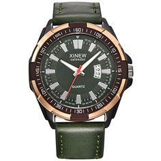 Howstar Wrist Watch Luxury Men's Aviator White Automatic Mechanical Date Day Leather Wrist Watch,Fashion #WellnessRelaxation
