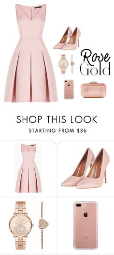 """""""Untitled #608"""" by elma-alibasic on Polyvore featuring BCBGMAXAZRIA, Topshop, Michael Kors, Belkin and Jimmy Choo"""