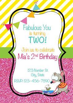 Toopy and Binoo Birthday Invitation Toopy and by AdelesAccessories Birthday Stuff, Baby Birthday, Birthday Ideas, Birthday Parties, Waiting List, Party Ideas, Gift Ideas, Party Stuff, Custom Items