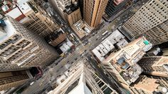 See how New York's intersections look from hundreds of feet up
