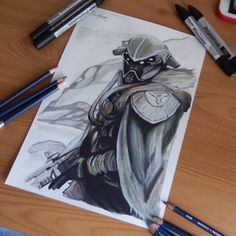 Destiny marker sketch by sdw-art.