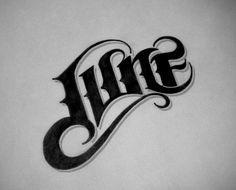 June; hand lettering by Diego Guevara