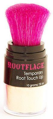 Rootflage Instant Light Blonde (Platinum Blonde) temporary base breaker is a MUST HAVE for light blonde hair maintenance! Our mineral powder will boost, bump, l