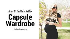 Spring is finally here!I've been searching through Pinterest to find the best capsule wardrobe ideas during pregnancy. With the change in seasons comes the change in capsule wardrobes. I created my own winter capsule wardrobe with a few key pieces and I stuck to it.So, I've taken those lessons and