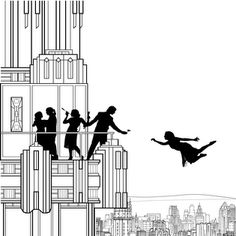 Falling Girl: interactive story of a girl falling from a skyscraper