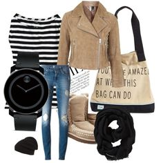 Untitled #29 by donakaran on Polyvore featuring polyvore, fashion, style, J.Crew, Topshop, Mou, TOMS, Movado, Old Navy and Phase 3