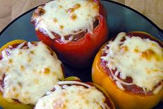 Healthy Diabetic Recipe for Stuffed Bell Peppers
