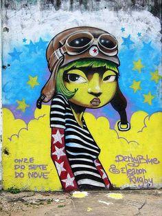 graffiti de Tio Shiko ♥
