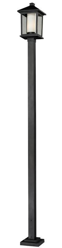 Z-Lite 538phb-536p-bk Mesa Collection Outdoor Post Light