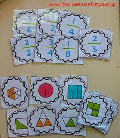 Η κυρία Αταξία, παιχνίδια, κλάσματα, δωρεάν , Τμήμα Ένταξης, Μαθησιακές Δυσκολίες, οπτικοποίηση, Μαθηματικά Kids Education, Special Education, Math Lab, Manicure Nail Designs, Teaching Math, Maths, Teaching Ideas, Math For Kids, Chapter Books