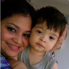 Mamá y Sebastian