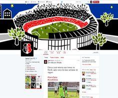 Criação de conteúdo digital, sugestão de identidade visual, CRM, SAC para os canais oficiais do Santa Cruz Futebol Clube.    Dezembro de 2015 a setembro de 2016.