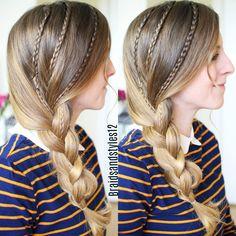 Simple Braided Hairstyles by Braidsandstyles12