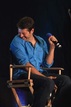 #Misha Collins' Saturday Panel, Vancon 2014. photo by http://dracopotter.tumblr.com