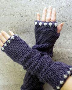 Charleston Fingerless Slouch Gloves crochet pattern