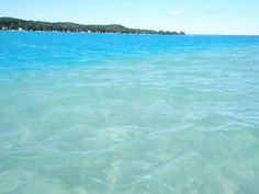 Torch Lake - the water is actually this clear and blue.... I spent summers here...I so miss those days
