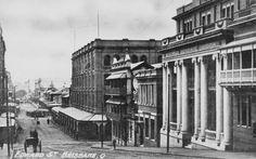 Edward St,Brisbane in Queensland in 1911.   🌹