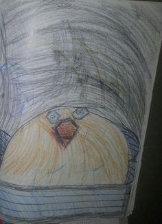 Vogel in dee Nacht (Rasmus 6 Jahre)
