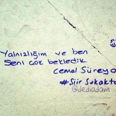 Yalnızlığım ve ben seni çok bekledik. www.dediadam.com https://www.pinterest.com/dediadam http://dediadam.tumblr.com/ https://www.flickr.com/photos/dediadam http://dediadam.blogspot.com.tr