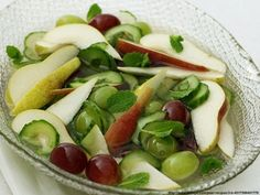 #fruit #salad #pears #delicious