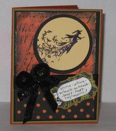 Moonlight Witch - Inkadinkado, Splitcoaststampers