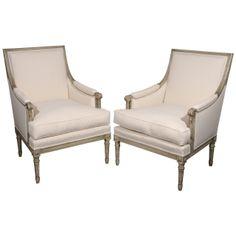 1stdibs.com   Scandinavian armchairs in the style of Louis XVI