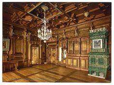 [The museum, room from the Casa Pestalozzi in Chiavenna, Zurich, Switzerland]