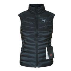 ARC'TERYX women's black Cerium LT padded insulated goose down vest jacket XS NEW #Arcteryx #Vest