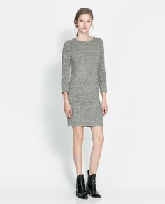Image 1 of SWEATER DRESS from Zara