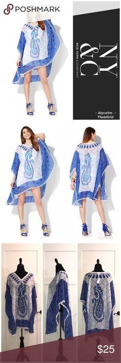 Spotted while shopping on Poshmark: 🦋Caftan🦋! #poshmark #fashion #shopping #style #New York & Company #Tops
