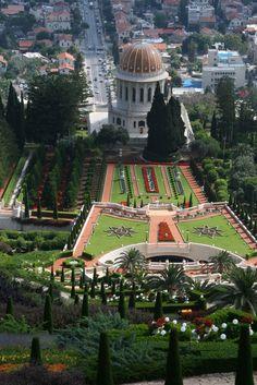 Bahai Temple in Israel