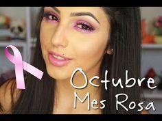 Maquillaje en tonos rosas/ colab con Ydelays.... - YouTube