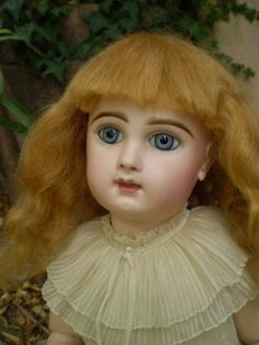 ANTIQUE-FRENCH-DOLL-BEBE-JUMEAU-SIZE-8-CLOSED-MOUTH-19-48-CM