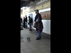 "Subway Performer sings ""Someone like you"" Adele!"