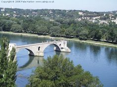 The Pont dAvignon is a famous medieval bridge in the town of Avignon, in southern France Monuments, Construction, Winter Storm, 14th Century, Cute Pictures, Cathedral, Medieval, Europe, Building Bridges
