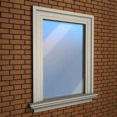 exterior window frame window sill more pictures and spec. Black Bedroom Furniture Sets. Home Design Ideas