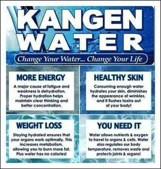 Alkaline restructured water