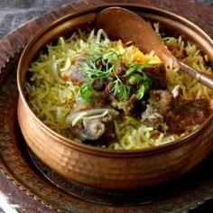 Delicately spiced and aromatic lamb and rice one pot dish. Use soy yogurt or coconut cream