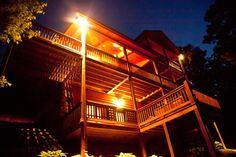 3 bdrm 3 bath luxury cabin home located near Blue Ridge GA, hot tub, wi fi, gas log fireplace, pool table! @ www.mtngetawaycabins.com