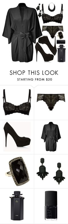 """""""Untitled #4336"""" by natalyasidunova ❤ liked on Polyvore featuring Myla, Forever 21, 3.1 Phillip Lim, Judith Jack, MANGO, Gucci, NARS Cosmetics and Valentino"""