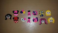 Masa flexible : chilindrina, minnies, hellow kitty, paris, buhito, minions, monster high, barbie y princesa ;)