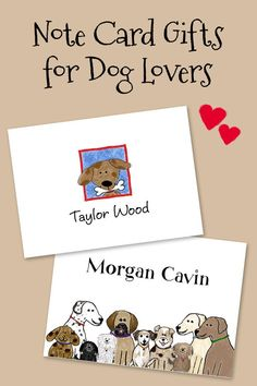 A bunch of happy dogs peek their heads out to help you say hello on this folded note stationery. Personalize with your own text! Dog Lover Gifts, Dog Gifts, Dog Lovers, Kids Stationery, Personalized Stationery, How To Fold Notes, Calling Cards, Happy Dogs, Cards